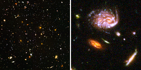 Hubble Ultra-Deep Field Zoom